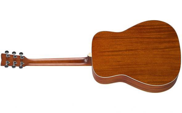Yamaha FG-TA (Brown Sunburst): 2
