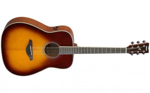 Yamaha FG-TA (Brown Sunburst): 1