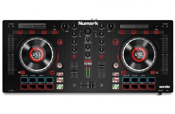 Numark MIXTRACK PLATINUM DJ: 1