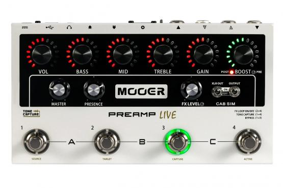 Mooer Preamp Live: 1