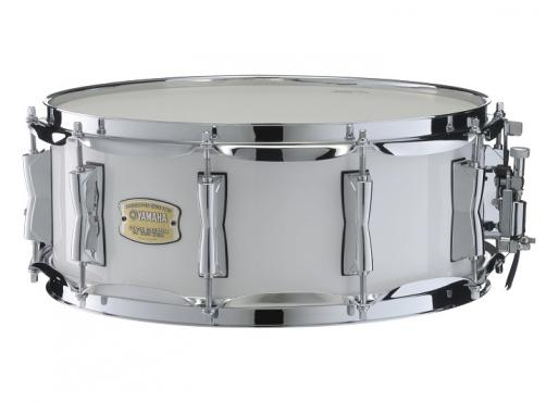Yamaha SBS1455NW STAGE CUSTOM BIRCH SNARE (Pure White): 1