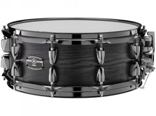 "Yamaha LHS1455 14"" Live Custom Hybrid Oak Snare (UZU Charcoal Sunburst): 1"
