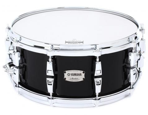 "Yamaha AMS1460 14"" Absolute Hybrid Maple Snare 14"" (Solid Black): 1"