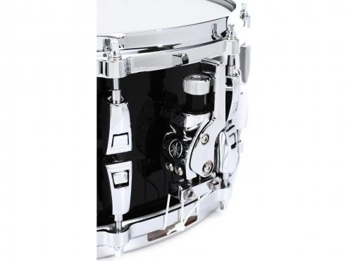 "Yamaha AMS1460 14"" Absolute Hybrid Maple Snare 14"" (Solid Black): 3"