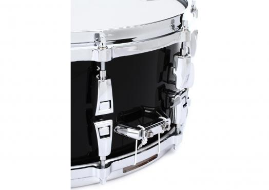 "Yamaha AMS1460 14"" Absolute Hybrid Maple Snare 14"" (Solid Black): 4"