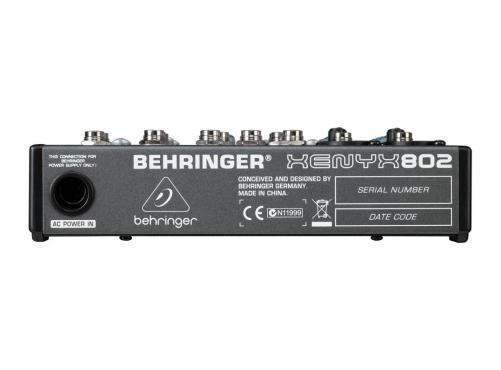 Behringer Xenyx 802: 3