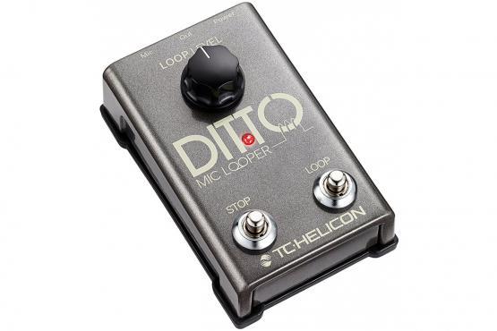 TC-Helicon Ditto Mic Looper: 2