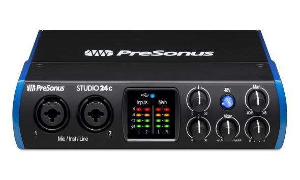 Presonus Studio 24c: 1
