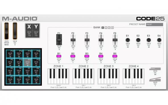 M-Audio Code 25 (Black): 5