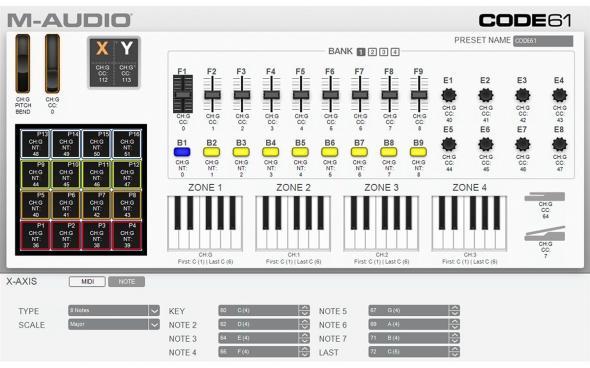 M-Audio Code 61 (Black): 3