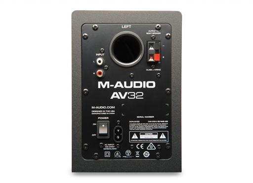 M-Audio AV32: 2