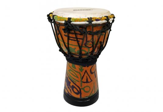 "Maxtone ADJ30B Abstract Cloth Djembe 6"": 1"