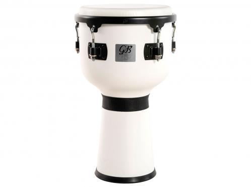 "Gon Bops FSDJUV10 10"" Fiesta Djembe (White Magic): 1"