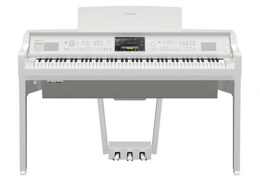 Yamaha Clavinova CVP-809 PWH (+блок питания): 1