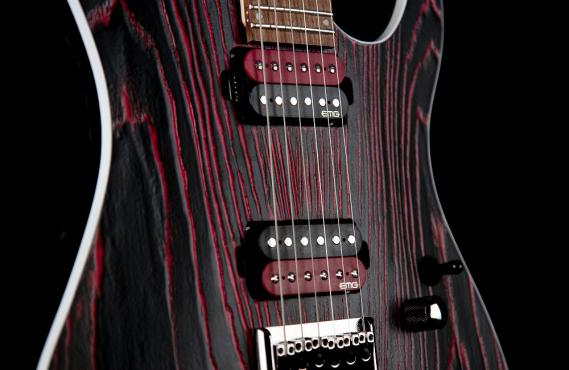 Cort KX300 Etched (Black Red): 4
