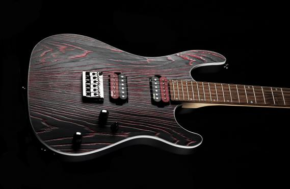 Cort KX300 Etched (Black Red): 3
