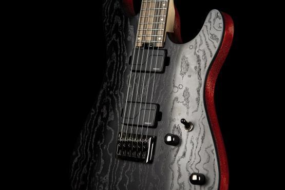 Cort KX500 Etched (Black): 3