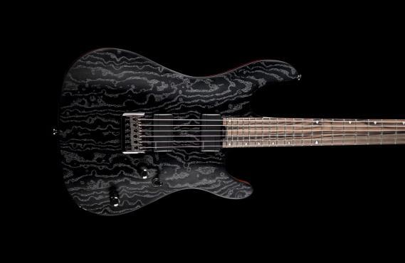 Cort KX500 Etched (Black): 2