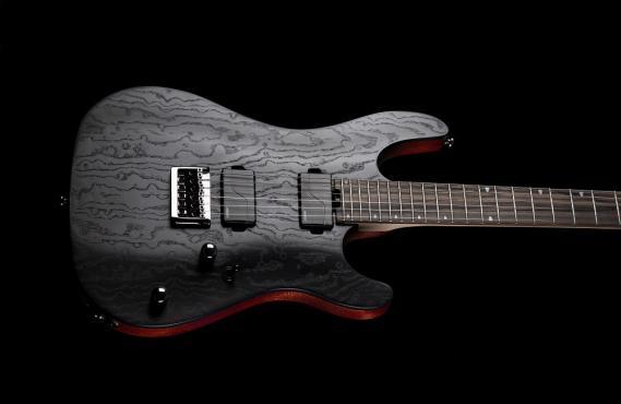 Cort KX500 Etched (Black): 4