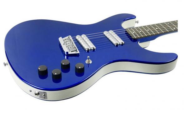 Danelectro Hodad (Blue Metallic): 3
