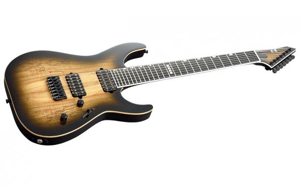 ESP E-II M-II-7 NT (Dark Brown Natural Burst): 3