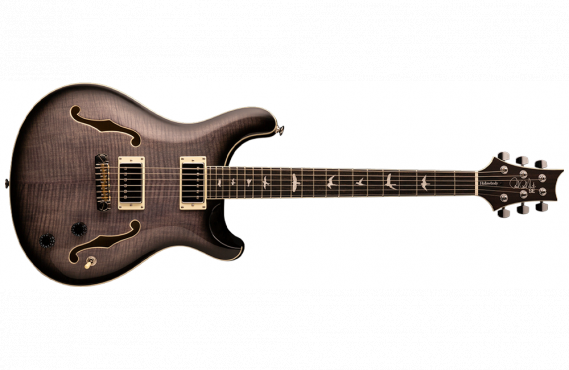 PRS SE Hollowbody II (Charcoal Burst): 1