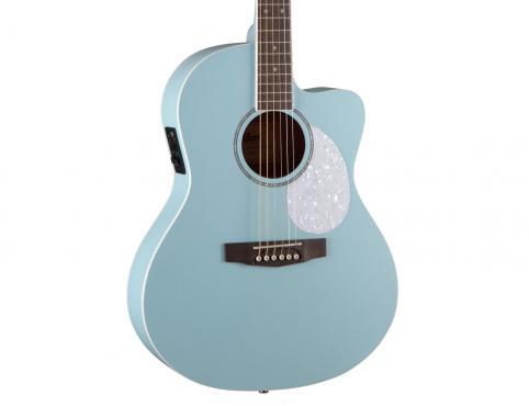 Cort Jade Classic (Sky Blue Open Pore): 5