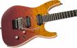 Jackson Pro Series Soloist SL2Q HT MAH, Ebony Fingerboard, Desert Sunset Sky: 3