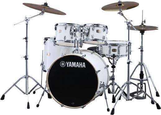 Yamaha Stage Custom Birch (Pure White): 2