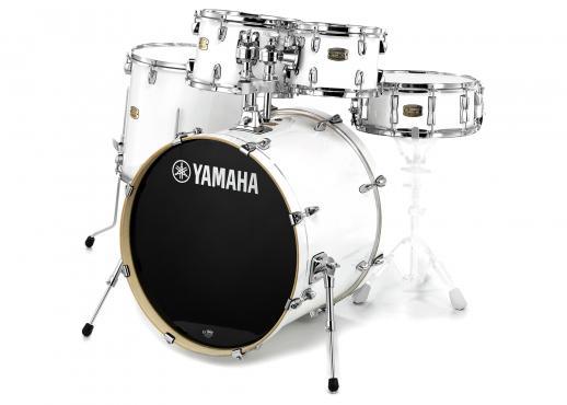 Yamaha Stage Custom Birch (Pure White): 1