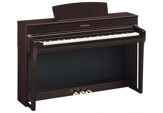Yamaha Clavinova CLP-745 (Rosewood): 1