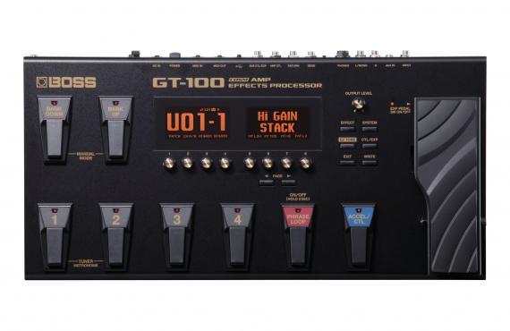 Boss GT-100: 1