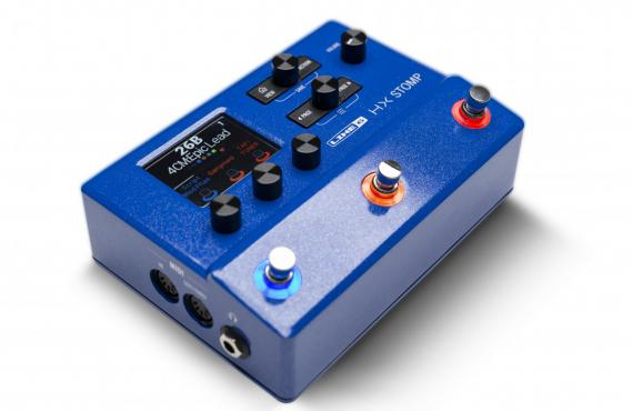 Line6 HX Stomp Limited Edition Blue: 2