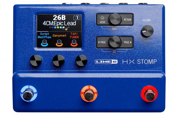 Line6 HX Stomp Limited Edition Blue: 1