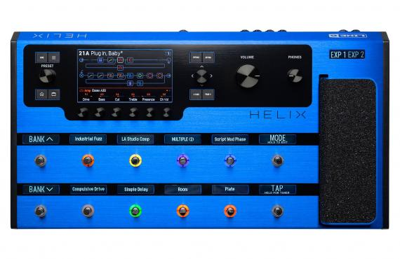 Line6 HELIX Limited Edition Blue: 1