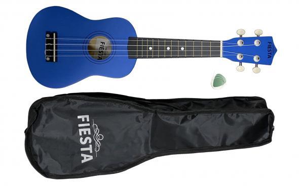 Fiesta MH-21 Blue (+ чехол, медиатор, струна): 1
