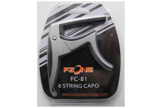 Fzone FC-81 Guitar Capo (Silver): 2