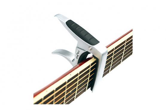 Fzone FC-81 Guitar Capo (Silver): 3