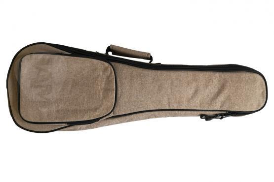 Fzone CUB7 Concert Ukulele Bag (Brown): 1