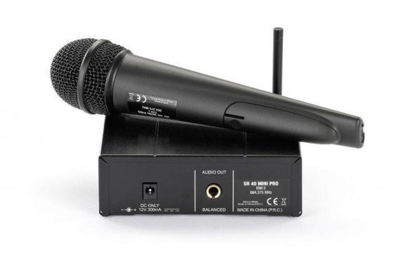 AKG WMS40 Mini Vocal Set BD US45B: 3