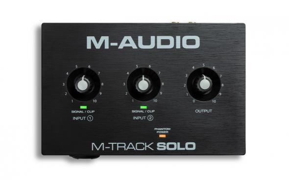 M-Audio M-Track Solo: 2