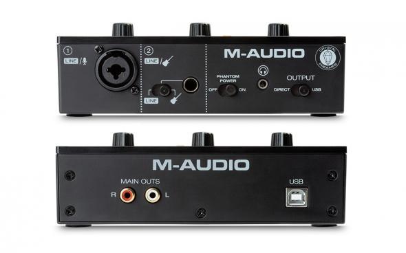 M-Audio M-Track Solo: 3