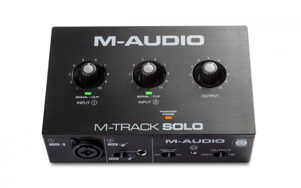 M-Audio M-Track Solo: 1
