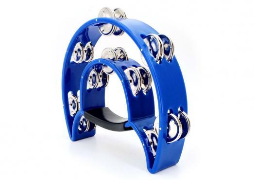 Maxtone 818 Dual Power Tambourine (Blue): 1