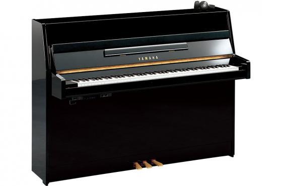 Yamaha JU109 Silent SC2 (Polished Ebony): 1
