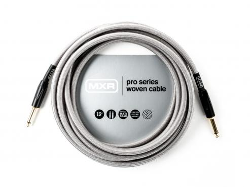 MXR Pro Series Woven Instrument Cable (3.65m): 1