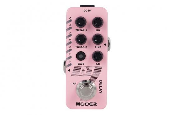 Mooer D7 Delay: 1