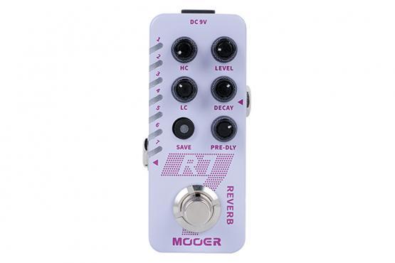 Mooer R7 Reverb: 1