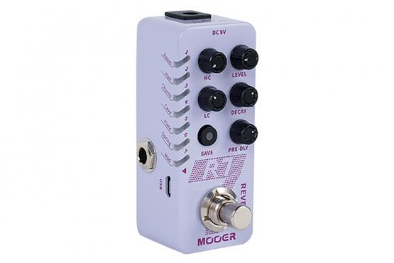 Mooer R7 Reverb: 2