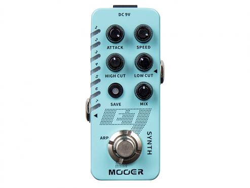 Mooer E7 Polyphonic Guitar Synth: 1